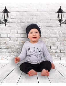 "Комплект для малышей (джемпер, штаны и шапка) ""Гений"""