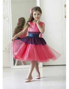 Платье нарядное малиновое Мэгги