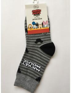 Носки полосатые детские дисней Mickey